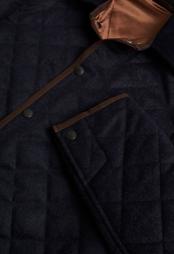 Quilted Barn Jacket, image 1