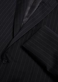 Black and White Chalk Stripe Suit, thumbnail 2