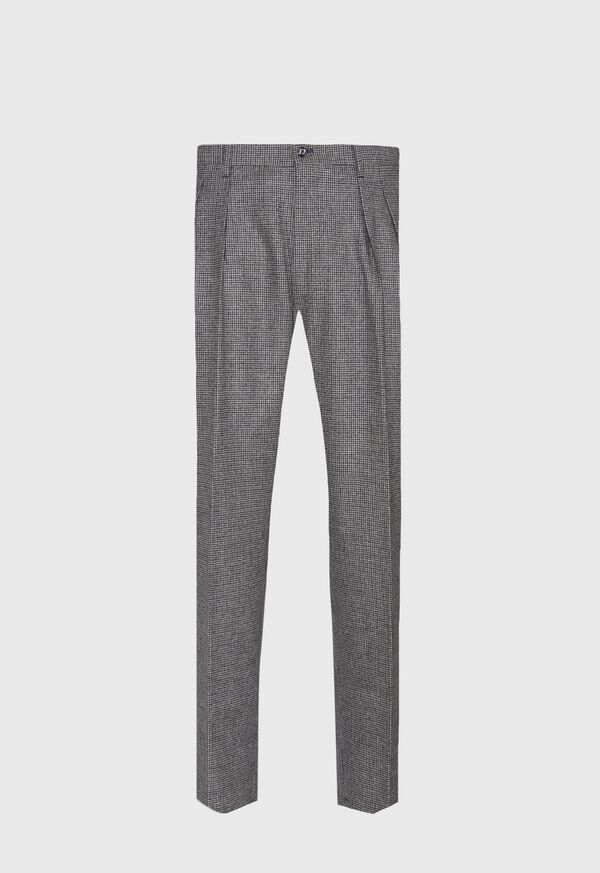 Phineas Cole Houndstooth Wide Leg Pant, image 1