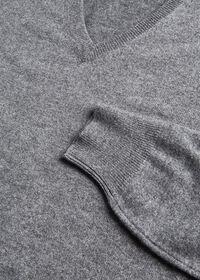 Cashmere V-Neck Sweater, thumbnail 2