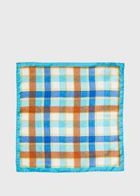 Multi Plaid Pocket Square, thumbnail 2