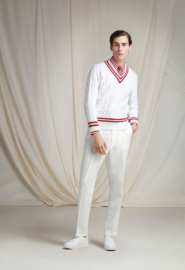 The Tennis Sweater Look, image 1