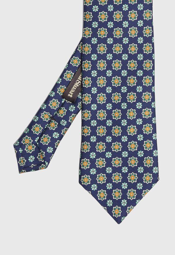 Floral Medallion Tie, image 1