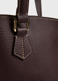 Deerskin Leather Tote, thumbnail 4