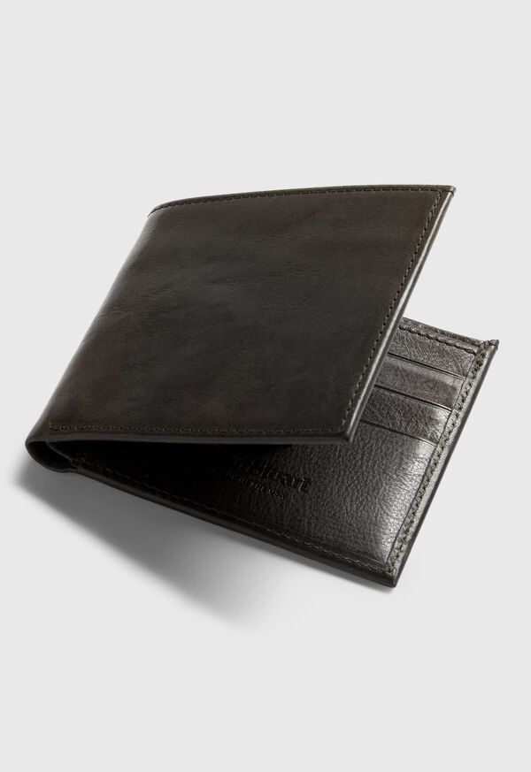 Bifold Vachetta Leather Wallet, image 2