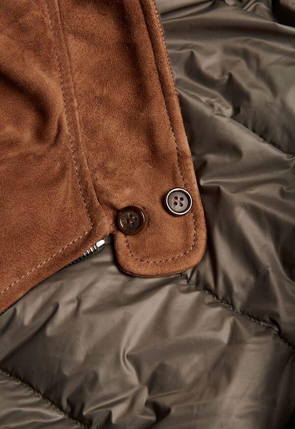 Suede Blouson Jacket, image 4