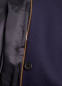 Double Breasted Navy Coat, thumbnail 3