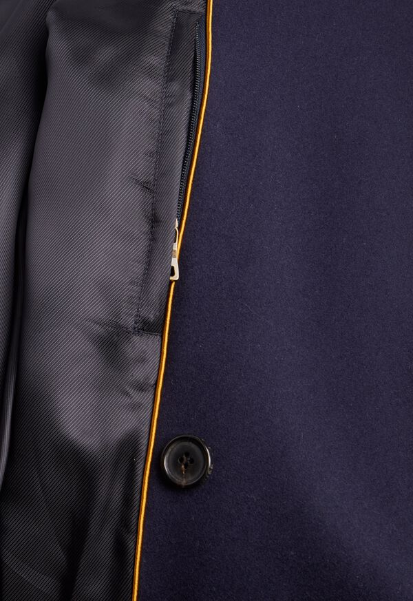 Double Breasted Navy Coat, image 3