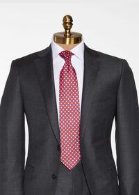 Small Floral Silk Tie, thumbnail 2