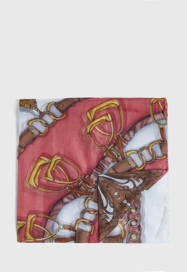 Abstract Chain Print Scarf, image 1