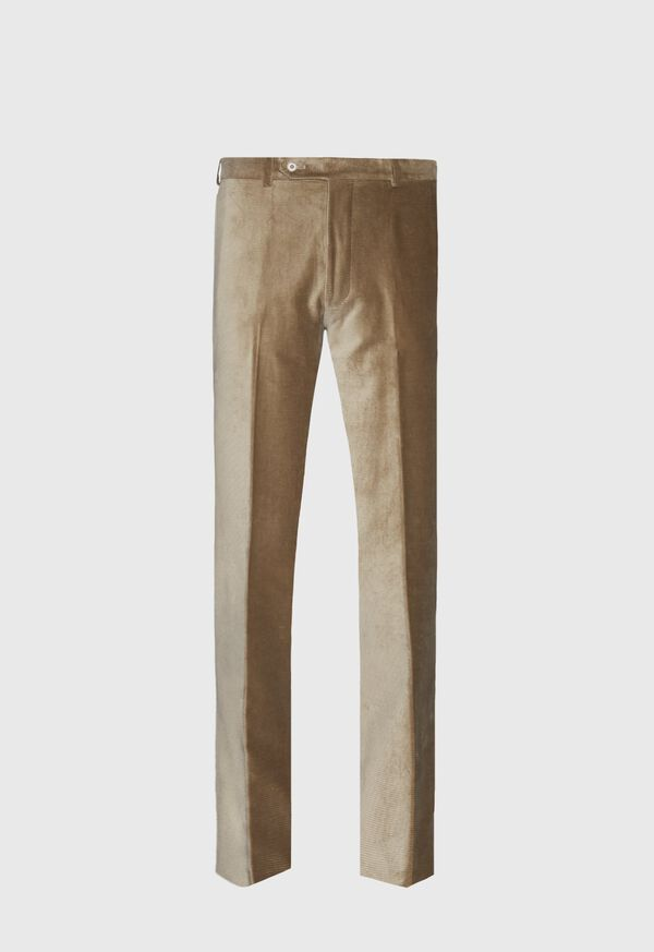 Beige Corduroy Dress Pant, image 1