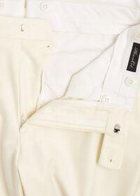 Flannel Harley Plain Front Trouser, thumbnail 3