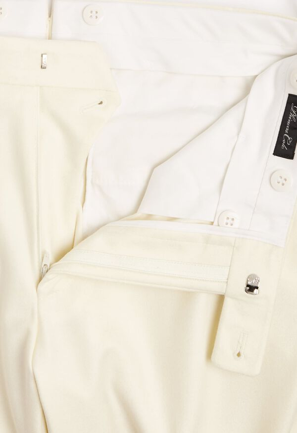 Flannel Harley Plain Front Trouser, image 3