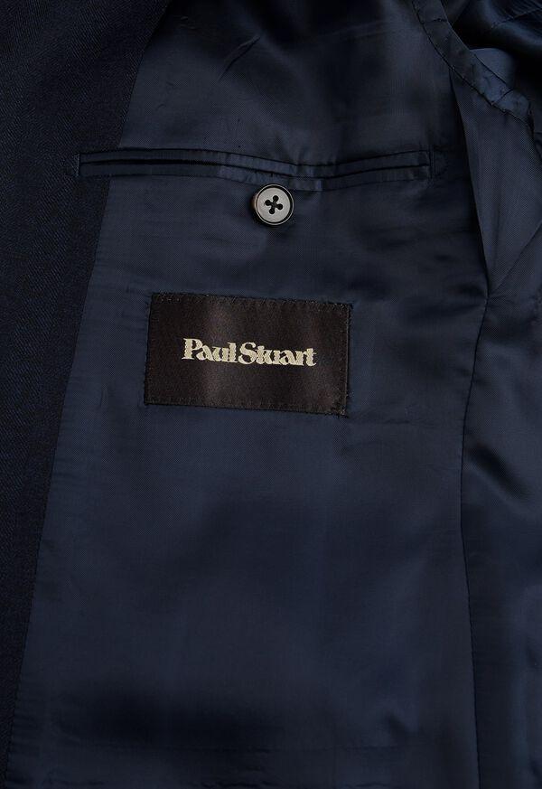 Tonal Navy Wool Sport Jacket, image 4