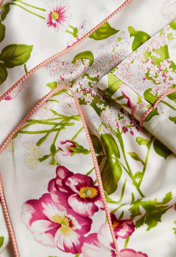Geranium Silk Robe, image 2