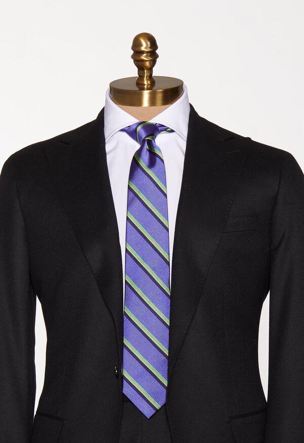 Silk Deco Stripe Sknny tie, image 2