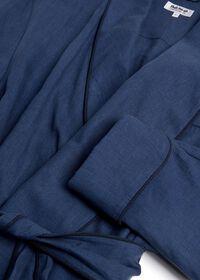 Solid Linen Robe, thumbnail 2