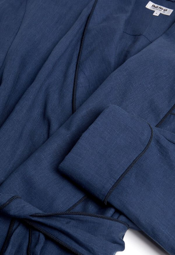 Solid Linen Robe, image 2