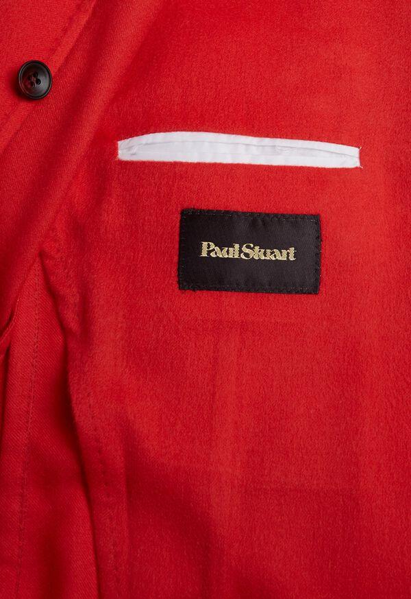 Red Cashmere Soft Jacket, image 5