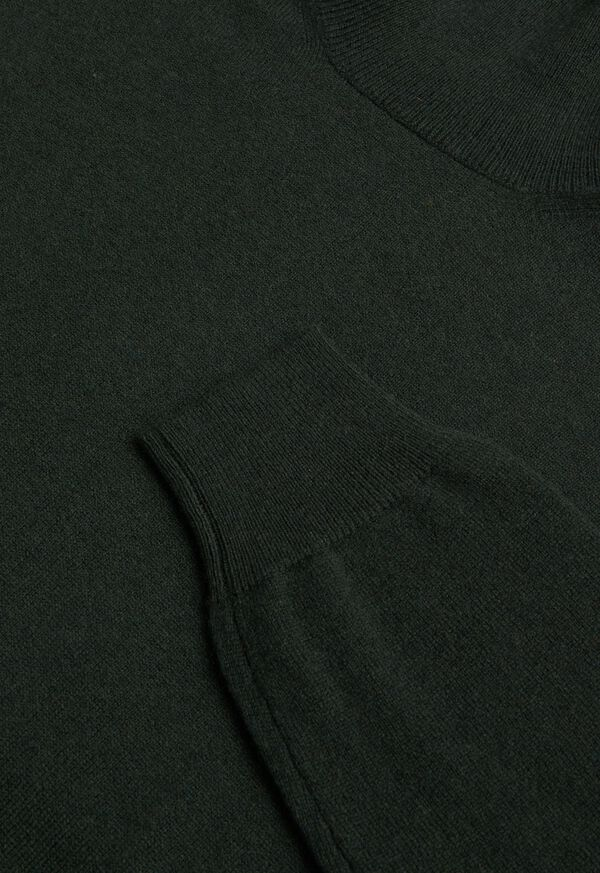 Wool and Cashmere Blend Turtleneck Sweater, image 3