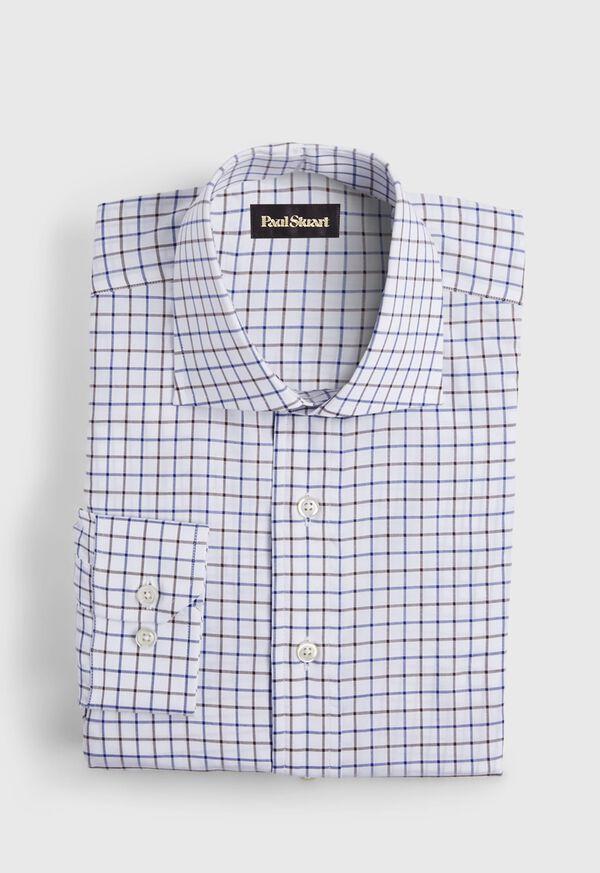 Slim Fit Graph Check Dress Shirt