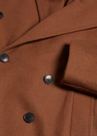 Double Breasted Wool Overcoat, thumbnail 2