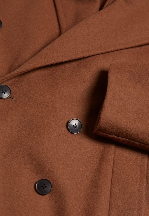 Double Breasted Wool Overcoat, image 2