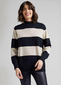 Striped Cashmere Sweater, thumbnail 2