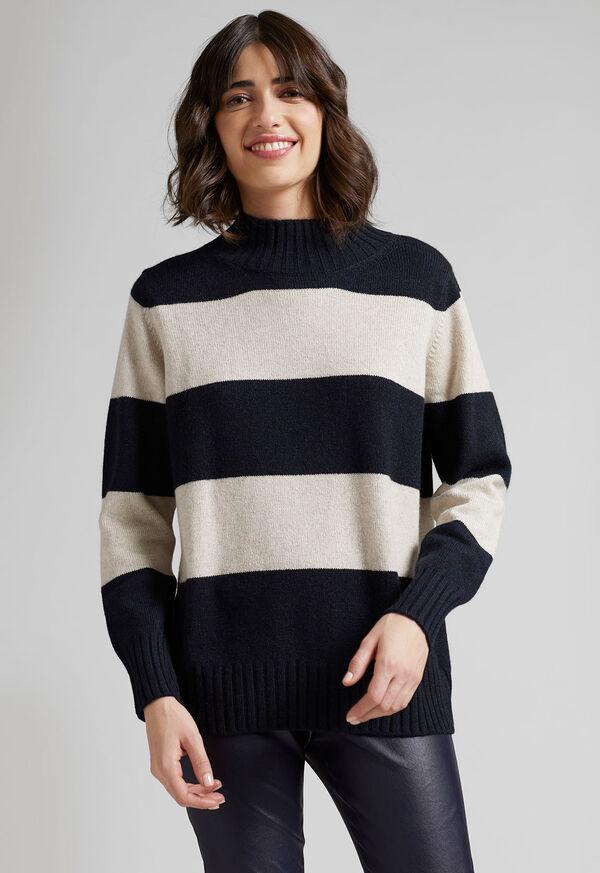 Striped Cashmere Sweater, image 2