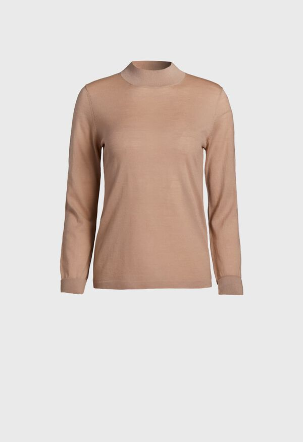 Lightweight Wool Turtleneck, image 1