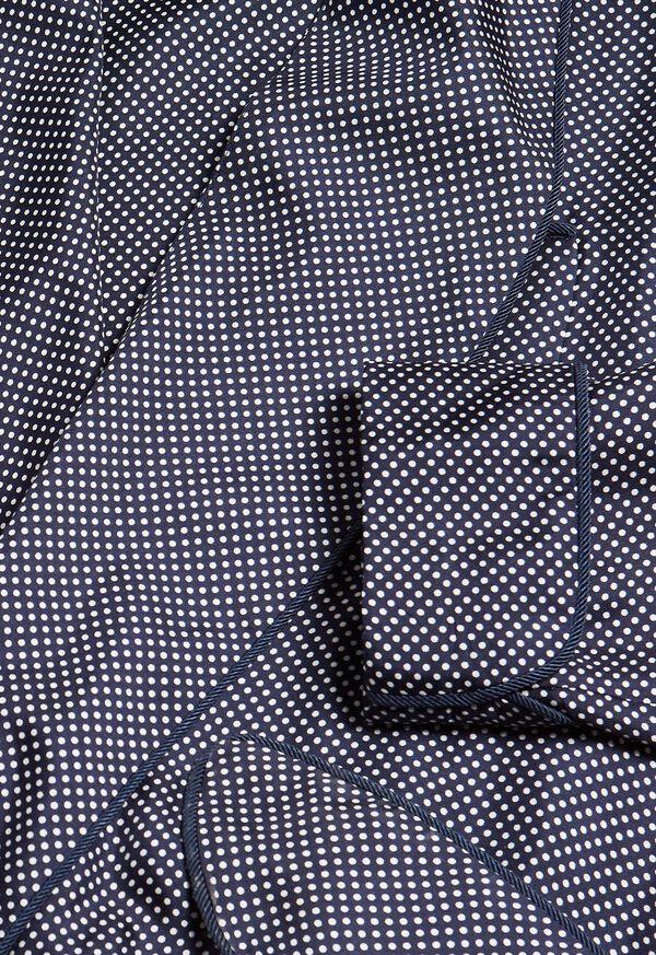 Silk Pindot Robe, image 2
