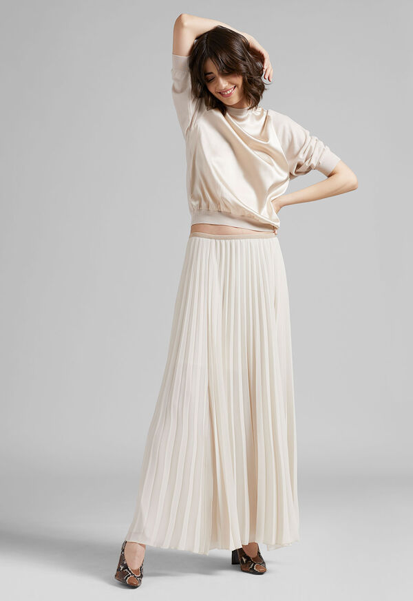 Long Pleated Skirt, image 2