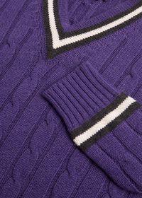 Scottish Cashmere Tennis Sweater, thumbnail 2