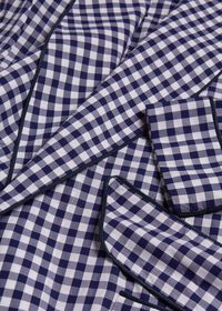 Gingham Check Robe, thumbnail 2