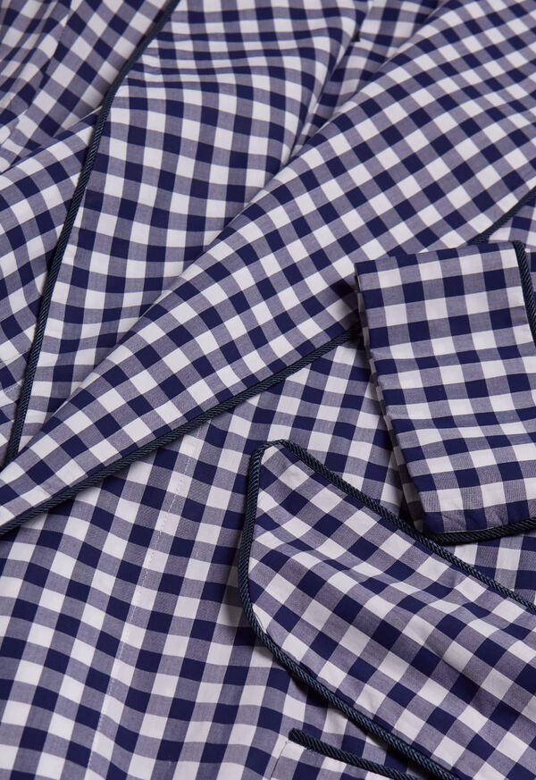 Gingham Check Robe, image 2