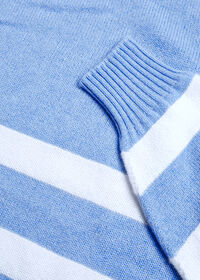 Crew Neck Stripe Sweater, thumbnail 2