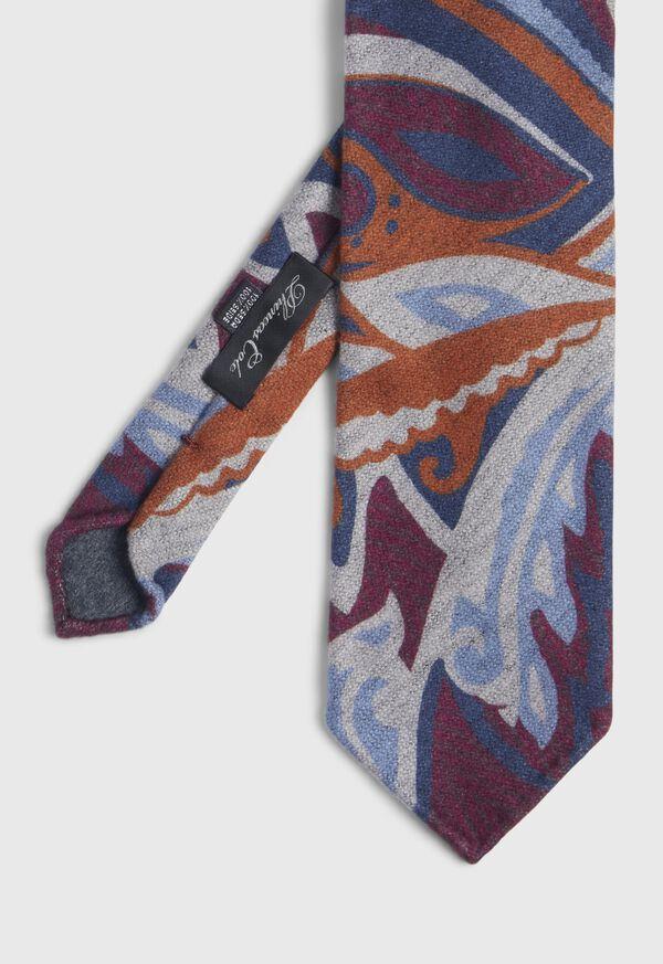 Silk Print Tie, image 1