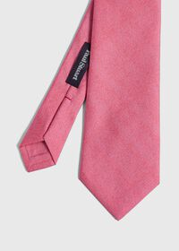 Printed Solid Silk Tie, thumbnail 1