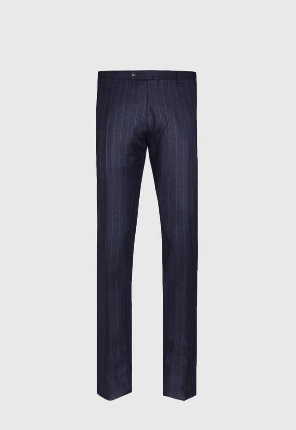 Tonal Blue Stripe Suit, image 5