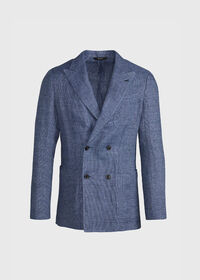 Textured Double Breasted Jacket, thumbnail 1