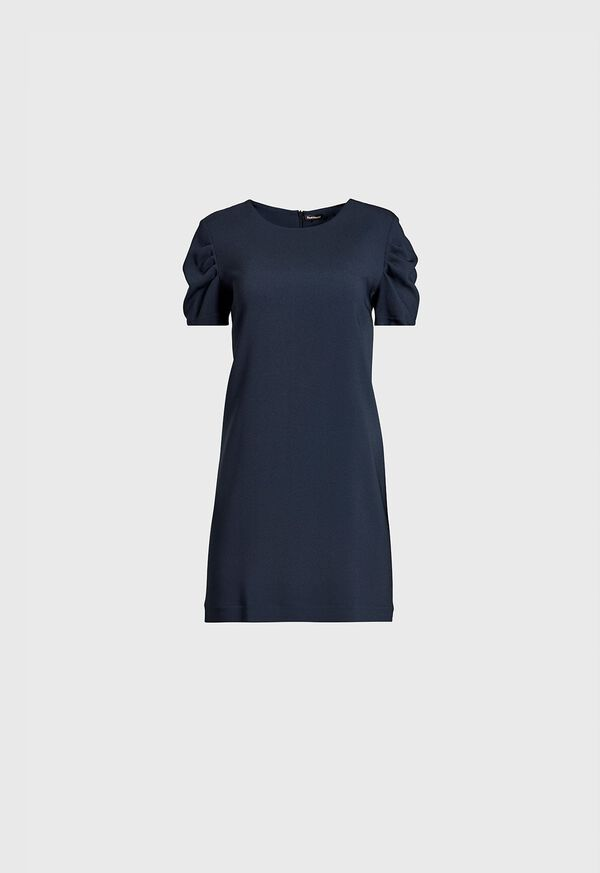 Dress with Ruched Sleeves, image 1