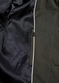 Solid Olive Raincoat, thumbnail 3