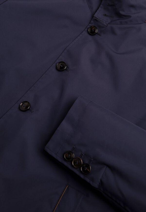 Microfiber Car Coat with Faux Vest, image 3