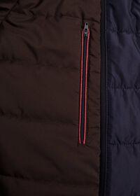 Microfiber Car Coat with Faux Vest, thumbnail 6