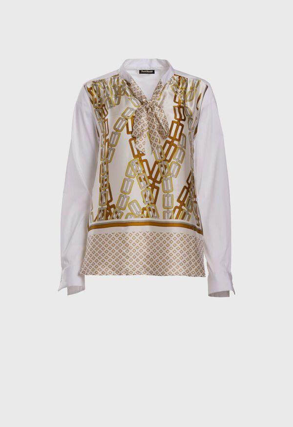 Silk Front Shirt, image 1