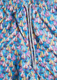Sailboat Print Swim Trunk, thumbnail 2