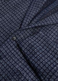 Blue Basket Weave  Jacket, thumbnail 5