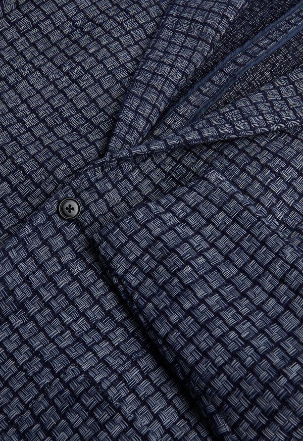 Blue Basket Weave  Jacket, image 5