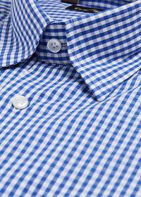Gingham Cotton Sport Shirt, thumbnail 2
