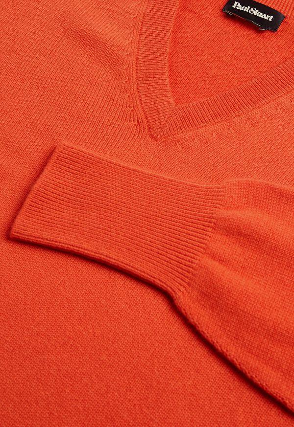 Scottish Cashmere V-Neck Sweater, image 47
